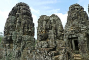 A temple called Bayonne, Angkor Thom, the Angkor complex, Siem Reap, Cambodia