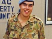 An UNTAC peacekeeper in 1993.
