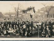 English: Labor Party, First National Convention 1919, Chicago, Illinois, USA.