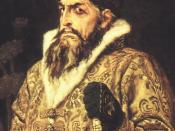 Ivan the Terrible by Viktor Vasnetsov, 1897