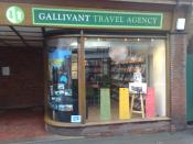 English: Travel Agent in Ingatestone High Street
