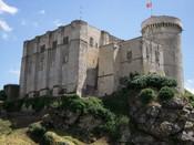 Français : Château médiéval de Falaise (Normandie), lieu de naissance de Guillaume le Conquérant