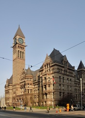 English: Toronto: Old City Hall Deutsch: Toronto: Altes Rathaus