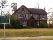 English: Eudora Welty House; Jackson, Mississippi; January 2011.