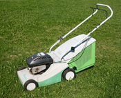 English: Viking lawn mower.