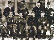 The Royal Engineers AFC (1872): the first passing side (of whom many former public school members)