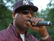 Talib Kweli performing in Brooklyn/Red Bull Experiment