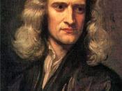 English: Isaac Newton Dansk: Sir Isaac Newton Français : Newton (1642-1727) Bahasa Indonesia: Issac Newton saat berusia 46 tahun pada lukisan karya Godfrey Kneller tahun 1689 Lietuvių: Seras Izaokas Niutonas 1689-aisiais Македонски: Сер Исак Њутн на возра