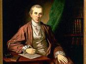 Dr. Benjamin Rush painted by Charles Willson Peale in 1783 and 1786. Winterthur Museum.