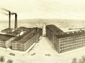 English: Berkshire Cotton Manufacturing Company, Adams, Massachusetts (3,750 Mason Looms, Mason Combers)