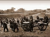 Mercenary Artillerymen Supplied With Guns & Ammunition By The British [c1880] Attribution Unk [RESTORED]