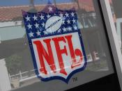 A photo of the Logo of the National Football League (NFL)