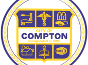 Official seal of City of Compton
