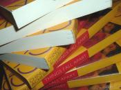 A spiral stack of copies of the 1994 Anchor Books edition of Chinua Achebe's novel Things Fall Apart