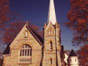 English: St. John The Evangelist Roman Catholic Church. Verne Equinox 01:15, 2 May 2006 (UTC)