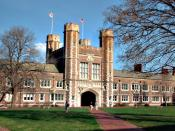 Brookings Hall, the administrative building for Washington University in St. Louis