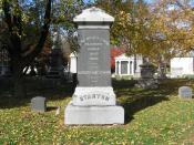 English: The monument of Elizabeth Cady Stanton in Woodlawn Cemetery, Bronx, NY