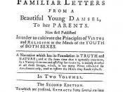 English: Cover for 1741 edition of Samuel Richardson's