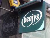 Benjys - Temple Row, Birmingham