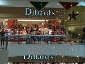 English: The Dillard's entrance at Ingram Park Mall, San Antonio, Texas