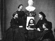 Victoria's five daughters (Alice, Helena, Beatrice, Victoria and Louise)