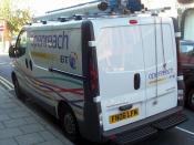 BT Openreach van. (Vauxhall Vivaro)