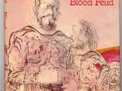 Rosemary Sutcliff (1976), Blood Feud, book jacket by Charles Keeping