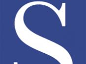 English: The logo of British high-street shop WHSmith.