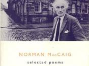 The cover of MacCaig's Selected Poems