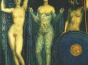 Die Drei Gottinnen Athena Hera Aphrodite