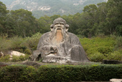 English: Statue of Lao Tzu (Laozi) in Quanzhou 中文: 福建泉州老君岩