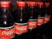 2007 U.S. Vanilla Coke bottles.