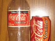 English: Vanilla Coke