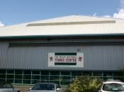 English: Welsh National Tennis Centre, East Moors, Cardiff