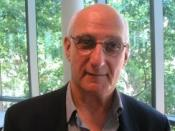 David Malouf picture at book meeting. (Taken by Dariusz Peczek on 28 October 2006)