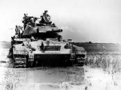 English: M24 (CHAFFEE) AMERICAN LIGHT TANK USED BY FRENCH IN VIETNAM.