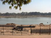 English: The River Sabarmati in Ahmedabad, Gujarat, India