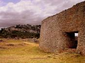English: close up, Great Zimbabwe