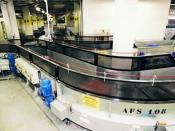 Baggage Handling Belt Conveyor systems