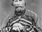Giuseppe Garibaldi in 1866, four years after surviving a bullet wound misdiagnosed by Partridge