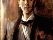 English: Portrait of Jean Cocteau (1889 - 1963).