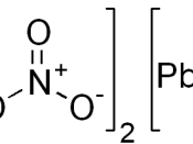 chemical structure of lead(II) nitrate