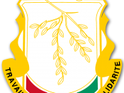English: Guinea crest Ελληνικά: Το Εθνόσημο της Γουινέας
