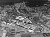 Deutsch: Daimler-Benz AG, Werk Sindelfingen um 1960