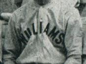 Major League Baseball player Bill Otis (Pictured with Williams college baseball team)