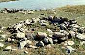 Thule Site (Copper Inuit) near Cambridge Bay (Victoria Island)