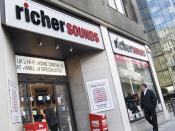 English: Richer Sounds City store, London