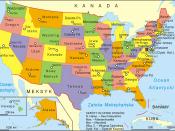 Stany Zjednoczone-mapa administracyjna