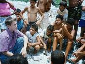 Craig Kielburger, age 12, on his first trip to South Asia