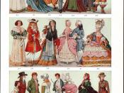 Overview of fashion from The New Student's Reference Work, 1914.